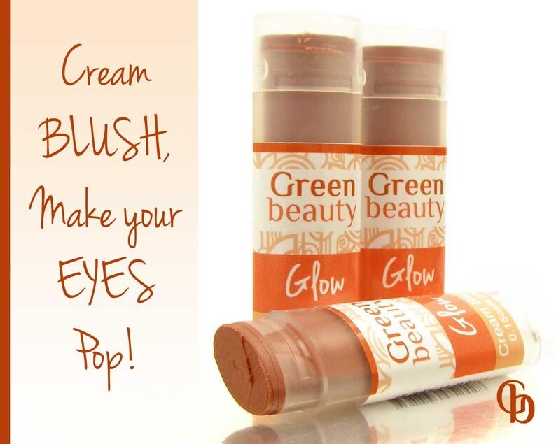 Cream Blush Glow Blush Stick Mineral Makeup Mineral Blush Etsy