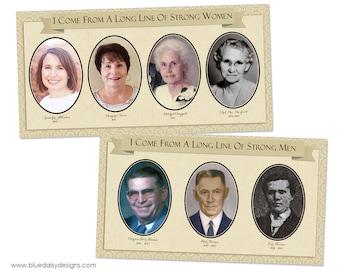 Custom Family History Storyboard