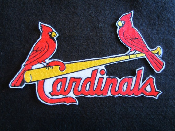Embroidered St Louis Cardinals Iron On Patch St Louis Etsy