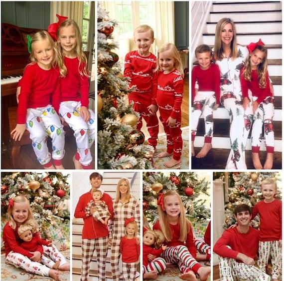 Next Christmas Pyjamas 2019.Christmas 2019 Final Pj Preorder Child Toddler Personalized Family Pajamas Holiday Pajamas