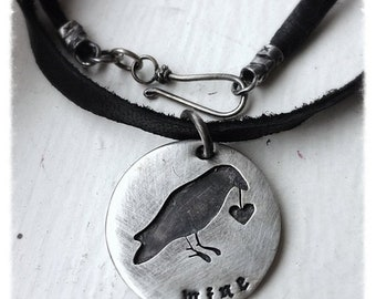 BLACK FRIDAY SALE - Any shape cut out and soldered - double disc, your phrase/words - solid sterling silver