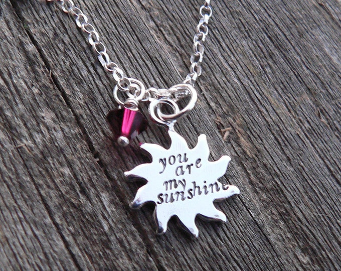 You Are My Sunshine...personalized children's version - Sterling