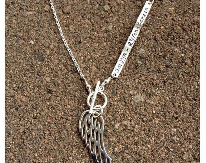BLACK FRIDAY SALE - Custom Enscribed Secret Message Necklace