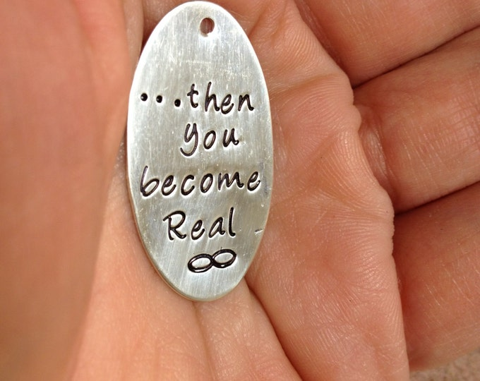Add a Large Solid Sterling Silver Round or Oval Tag a la carte