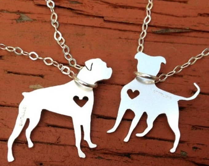 BLACK FRIDAY SALE - Petite Detailed Solid Sterling Silver Shape Necklace - Pet - Dog Cat Horse Bird and More - Choose your Breed - Personali