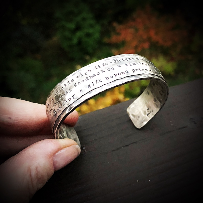 Rustic Wide & Heavy Sterling Silver Classic Cuff  image 0