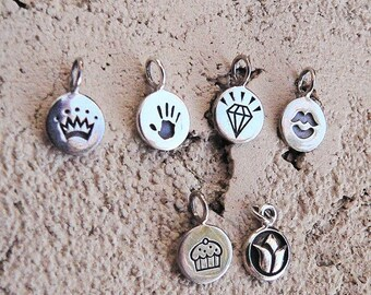 LIMITED TIME SALE Add a sterling silver charm to your order