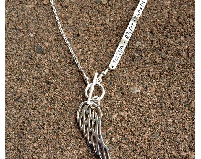 Custom Enscribed Secret Message Necklace