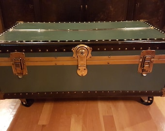 Charmant Vintage Trunk Coffee Table