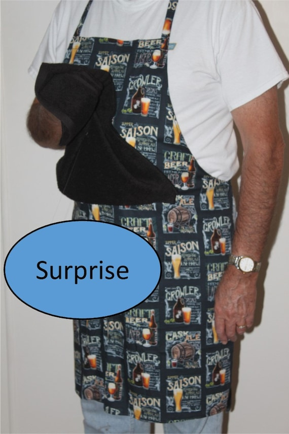 Bbq apron with penis