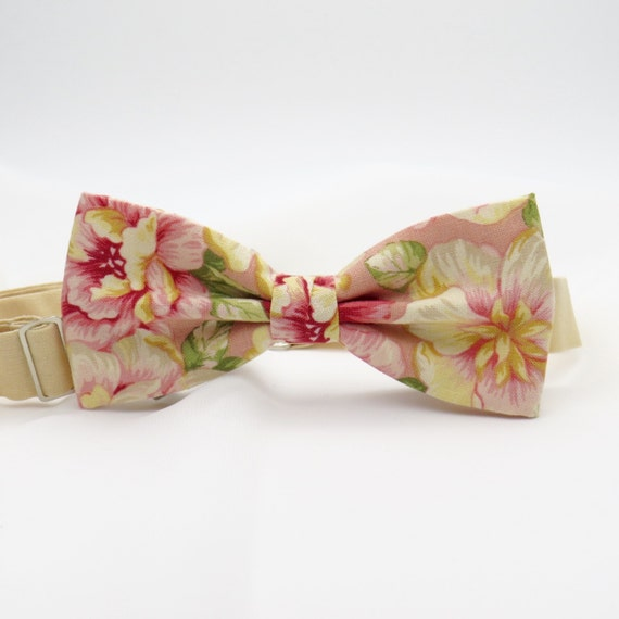 Bow tie Bright blue and Pink Self-tie bow tie Wedding accessory Groomsman Men Women bowtie Gift for Groom Bridegroom Steady Handmade bow ties
