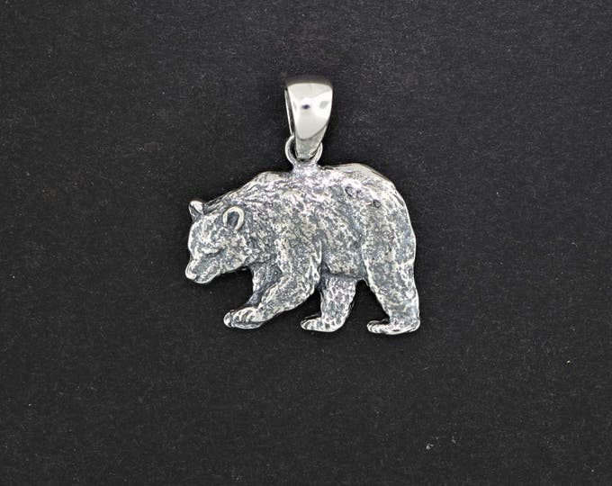 Bear Pendant in Gold Made to Order