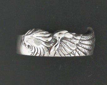 Ladies Final Fantasy 8 Squall Griever Ring in Sterling Silver or Antique Bronze