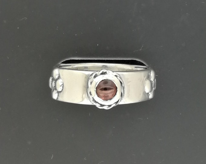 Howl's Calcifer Fire Band in Sterling Silver
