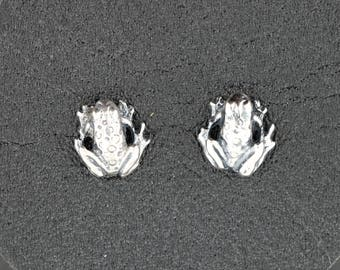 Gold Frog Earrings Made to Order