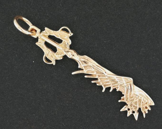 Kingdom Hearts Ultima Keyblade Pendant in Antique Bronze