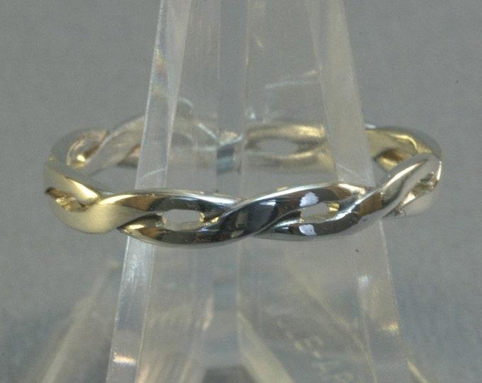 Simple Sterling Silver Braid Ring