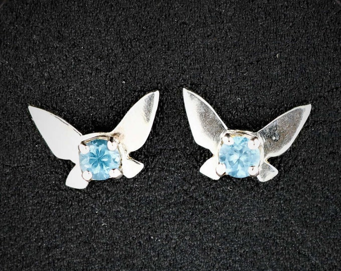 Legend of Zelda Sterling Silver Navi Fairy Earrings
