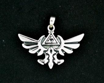 Gold Legend of Zelda Pendant Made to Order