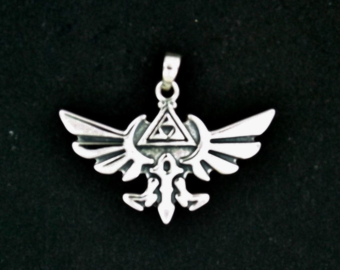 Gold Legend of Zelda Pendant Made to Order