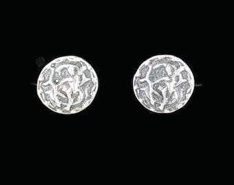 Sterling Silver Zodiac Stud Earrings Sagittarius