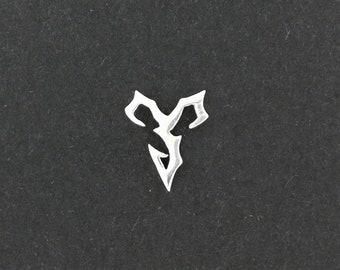Final Fantasy X Tidus Single Earring in Sterling Silver