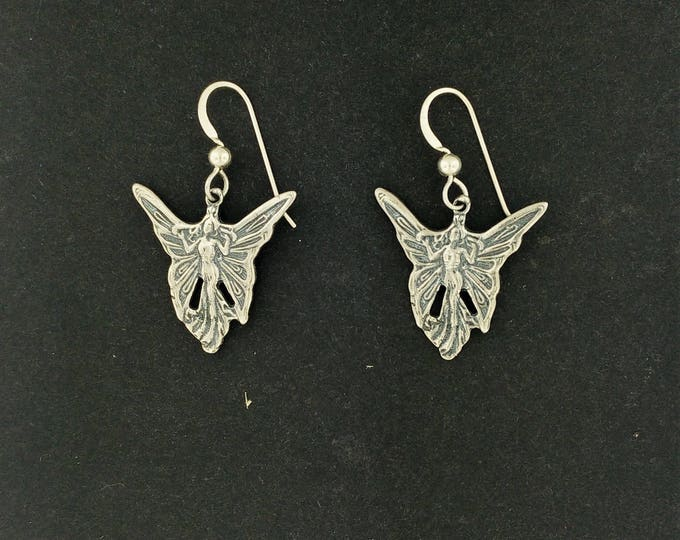 Fairy Earrings in Sterling Silver