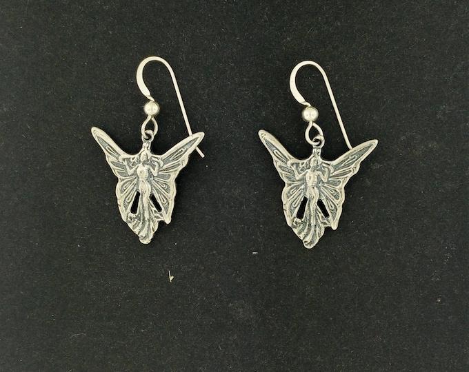 Fairy Earrings in Sterling Silver