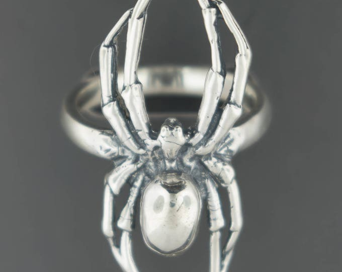 Spider ring in Sterling Silver