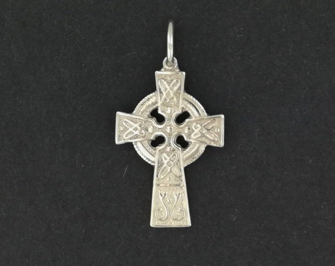 Small Celtic Cross in Gold Made to Order