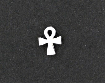 Sterling Silver Ankh Single Stud Earring