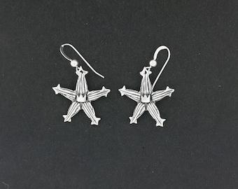 Kingdom Hearts Wayfinder Earrings in Sterling Silver