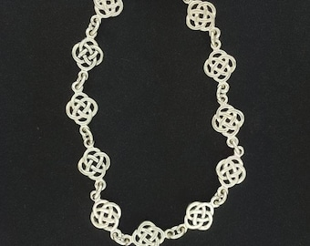 Endless Knot Bracelet in Sterling Silver