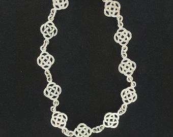 Endless Knot Bracelet in Sterling Silver