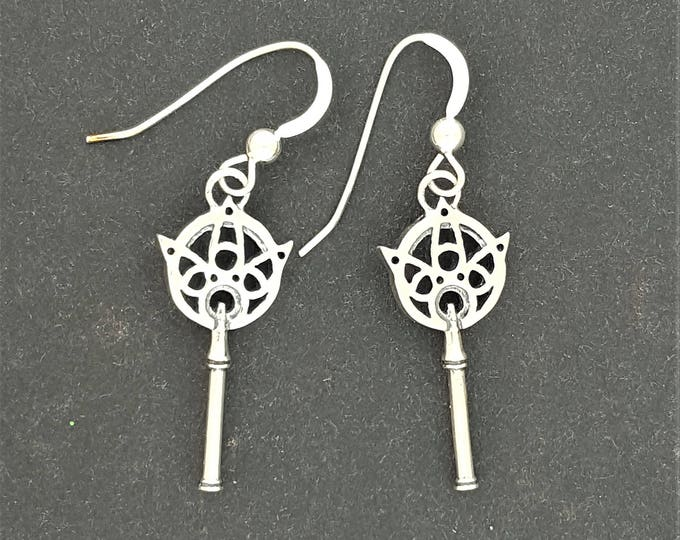 Final Fantasy X Yuna's Wand Earrings in Sterling Silver