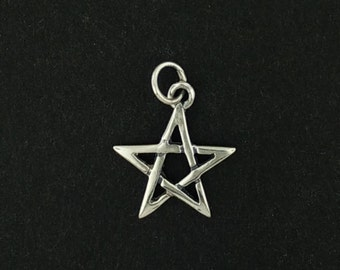 Pentagram Charm in Sterling Silver
