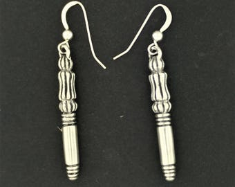 Final Fantasy 7 Crisis Core Genesis Earrings in Sterling Silver