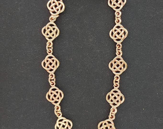 Endless Knot Bracelet in Antique Bronze
