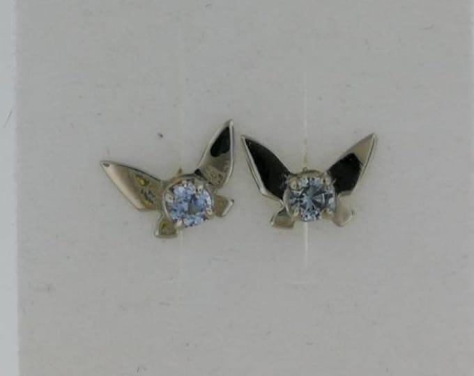 Legend of Zelda Navi Fairy Earrings in gold made to order