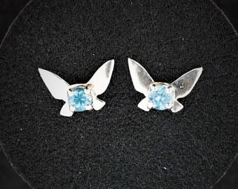 Legend of Zelda Sterling Silver Navi Fairy Earrings