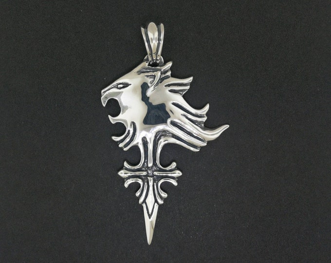 Custom Griever Pendant in Sterling Silver