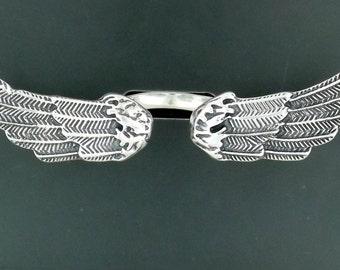 Angel Wings Ring in Sterling Silver
