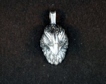 Eagle Head Pendant in Stainless Steel