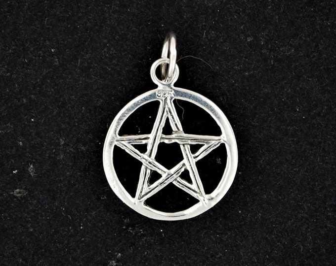 Pentacle Pendant in Sterling Silver