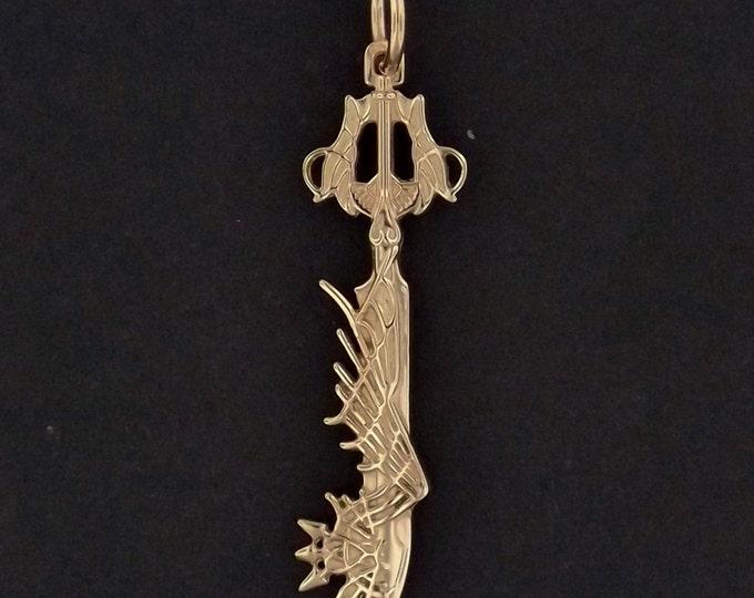 Ultima Keyblade Pendant in Antique Bronze