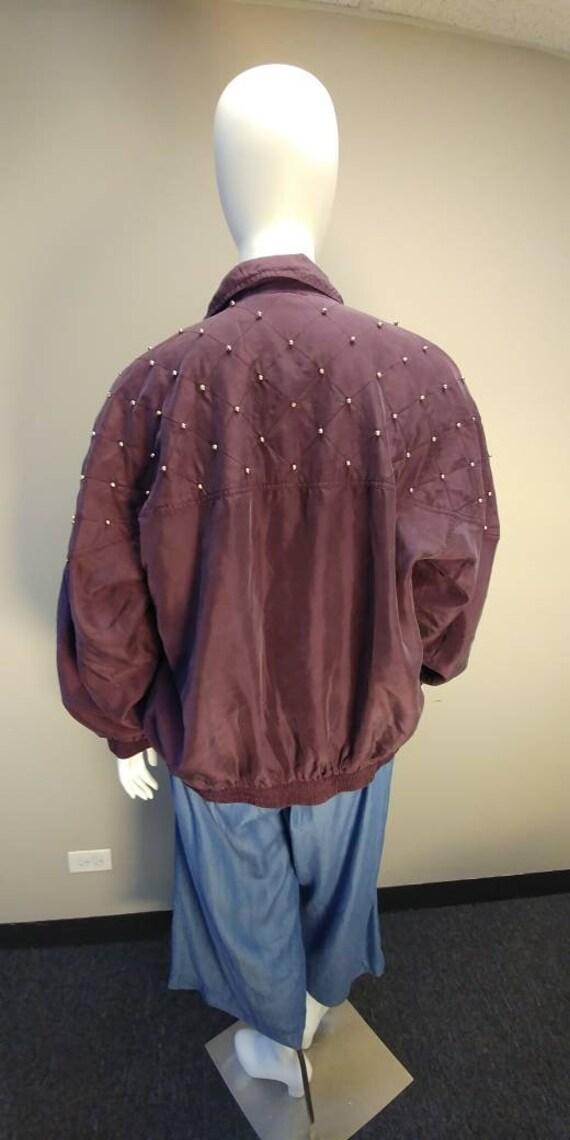 Fuda International Silk Bomber jacket - image 3