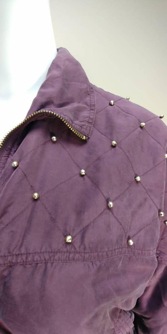 Fuda International Silk Bomber jacket - image 2