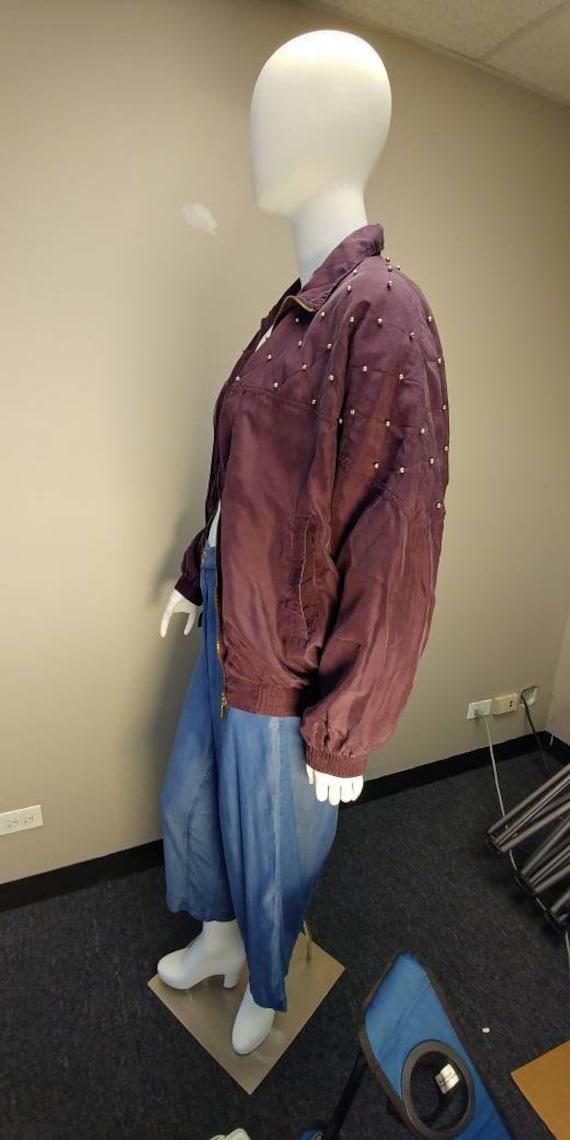 Fuda International Silk Bomber jacket - image 7