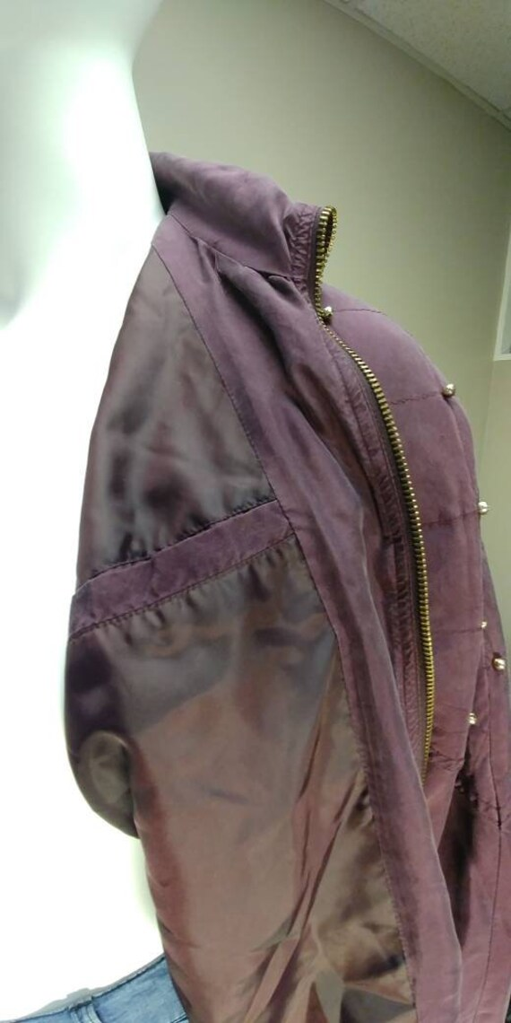 Fuda International Silk Bomber jacket - image 6