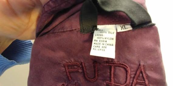 Fuda International Silk Bomber jacket - image 5